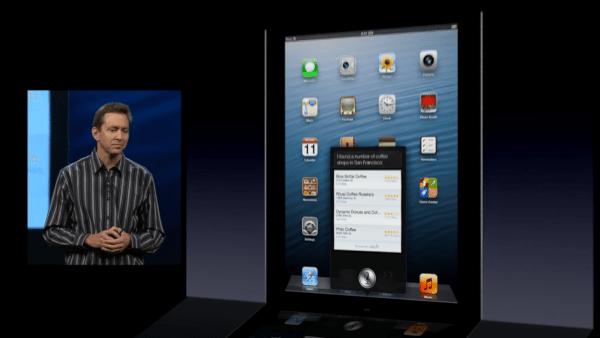 iOS 6 Siri for iPad